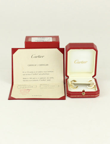 Cartier <br> Love Hoop Earrings
