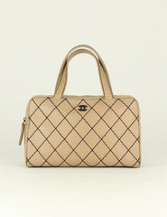 Chanel <br> Quilted Wild Stitch Chain Bag