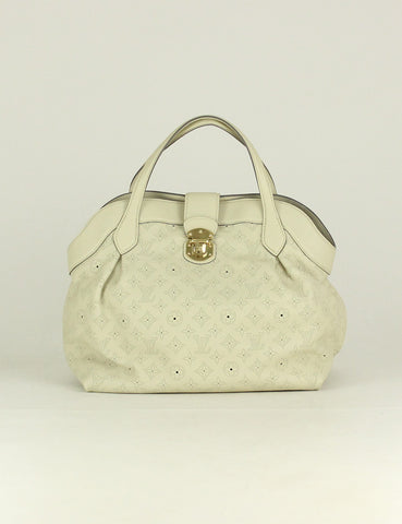 Louis Vuitton <br> Mahina Leather Cirrus MM Bag (Employee sale item)
