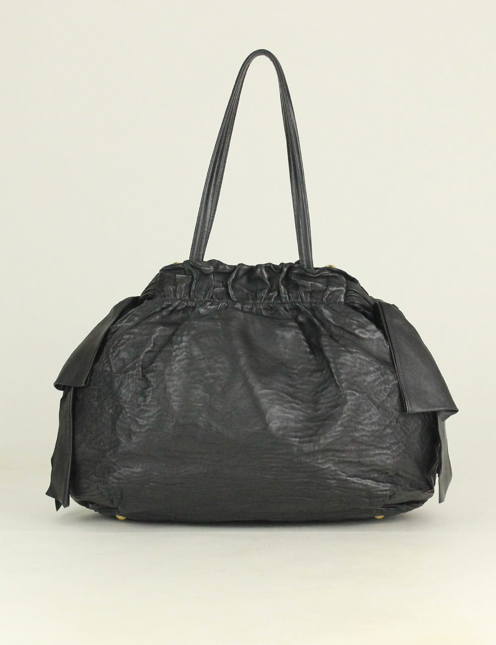 PRADA <br> Bow Large Satchel 2-way Bag