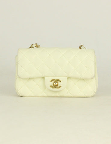 Chanel <br> Quilted Rectangular Mini Flap bag