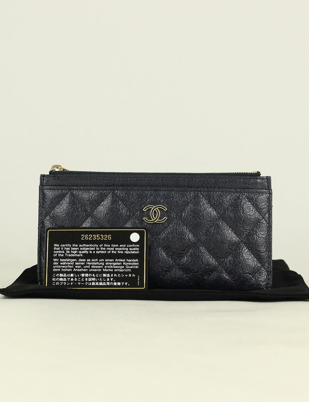 4c1c53ad1dff Chanel Camellia Long Card Holder – Brand Shop Treasures
