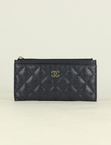 Chanel <br> Camellia Long Card Holder