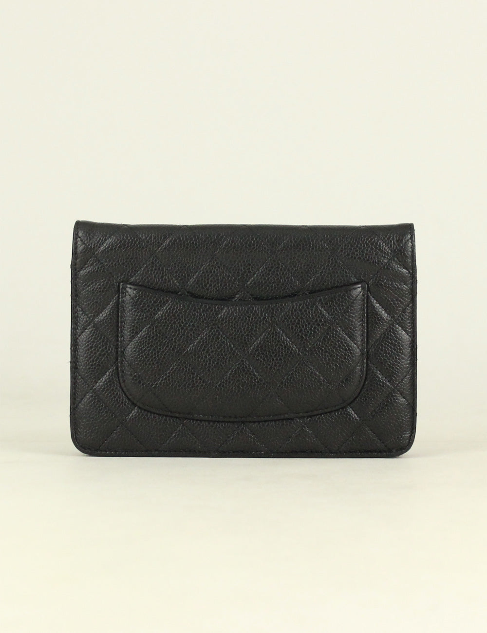 Chanel <br> Classic Quilted Wallet On Chain bag