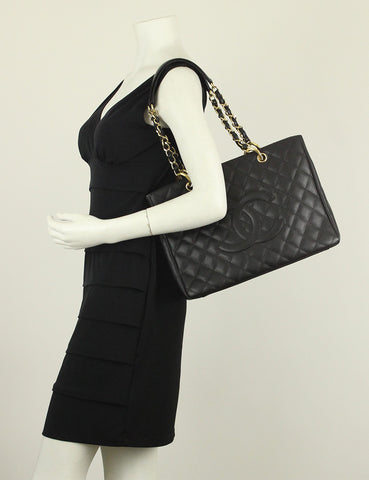 Chanel <br> Quilted Grand Shopping Tote Bag