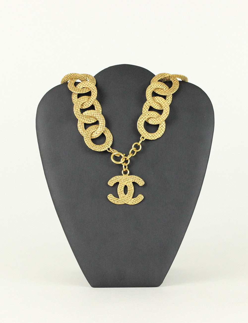 Chanel <br> Vintage Large Chain Link Necklace