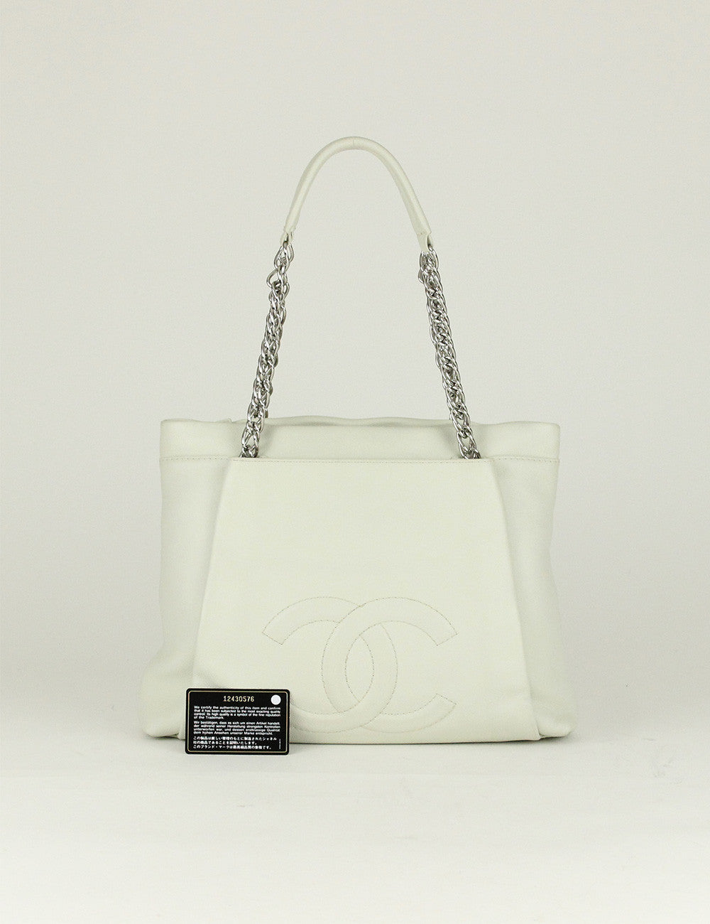 Chanel <br> CC Logo Shopping Tote Bag