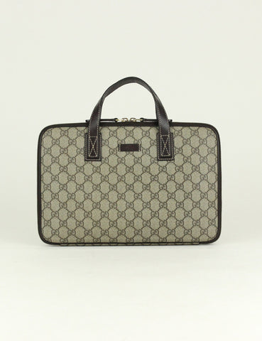 GUCCI <br> GG 13 inch Laptop Computer Bag