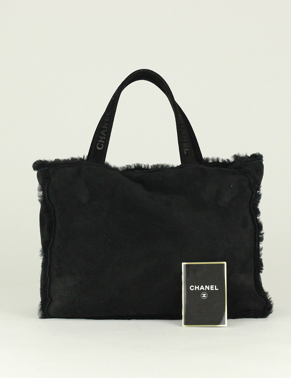 Chanel <br> Sheepskin and Fur Large Tote Bag