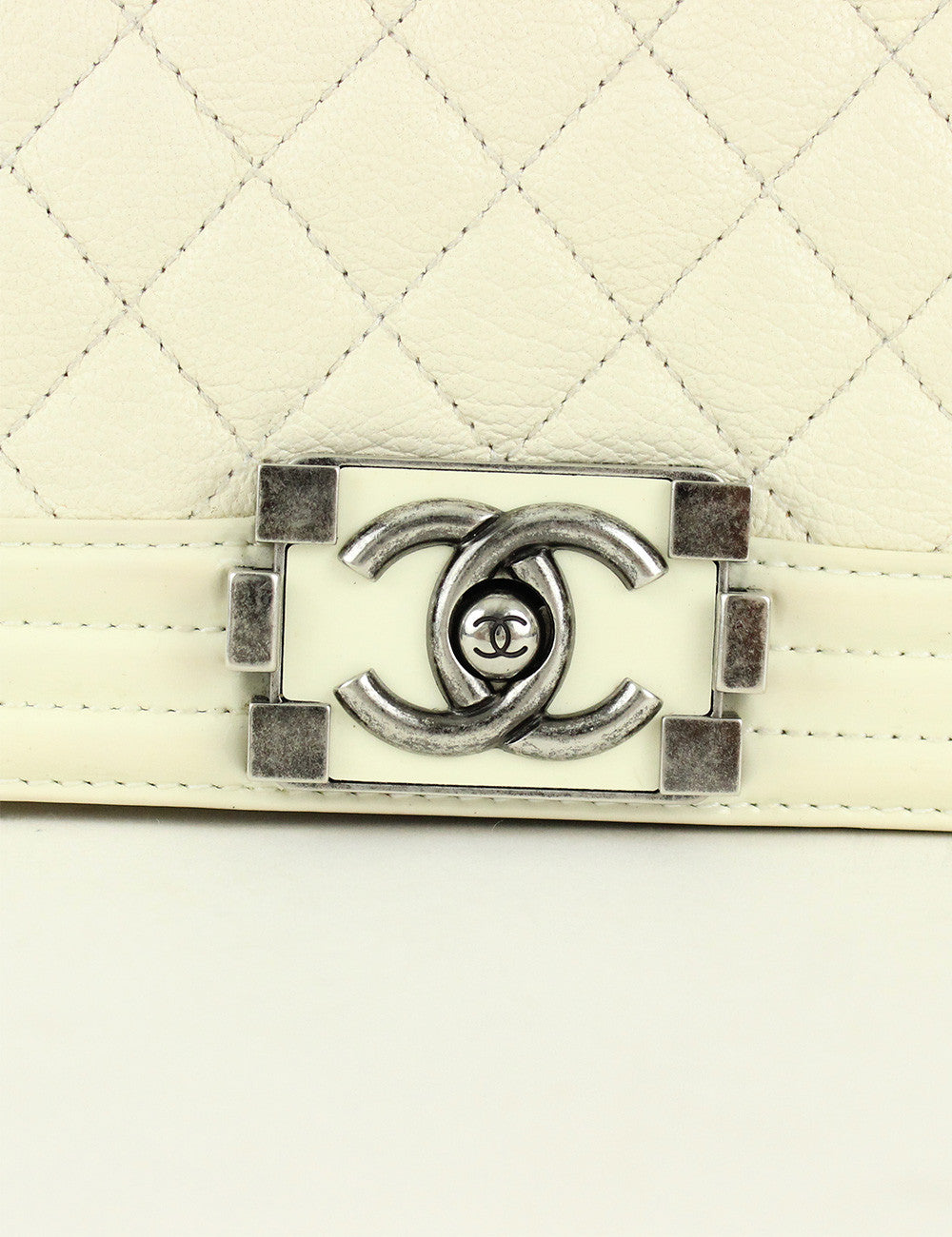 Chanel <br> Quilted Medium Boy Flap Bag