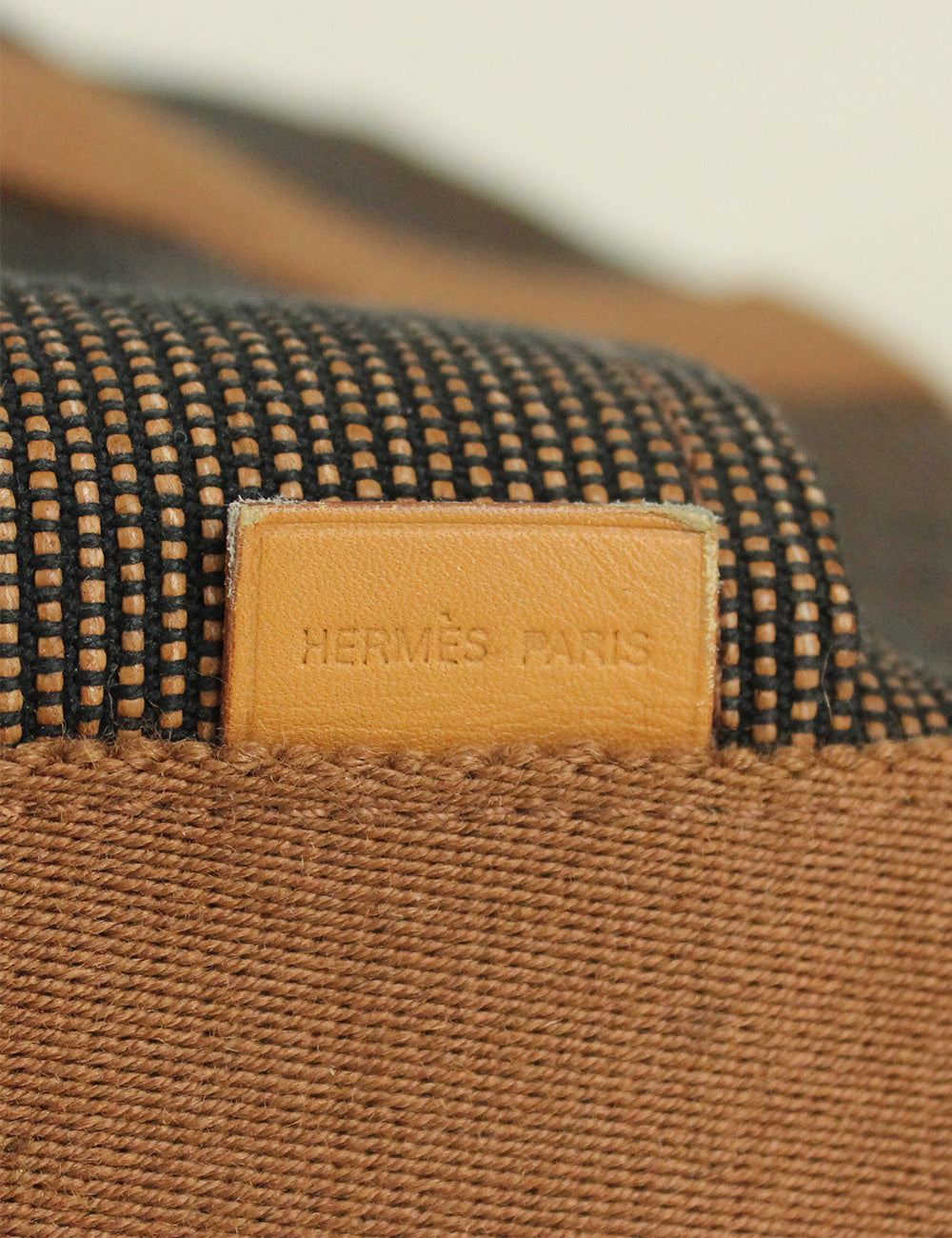 Hermes <br> Saxo MM Canvas Bag