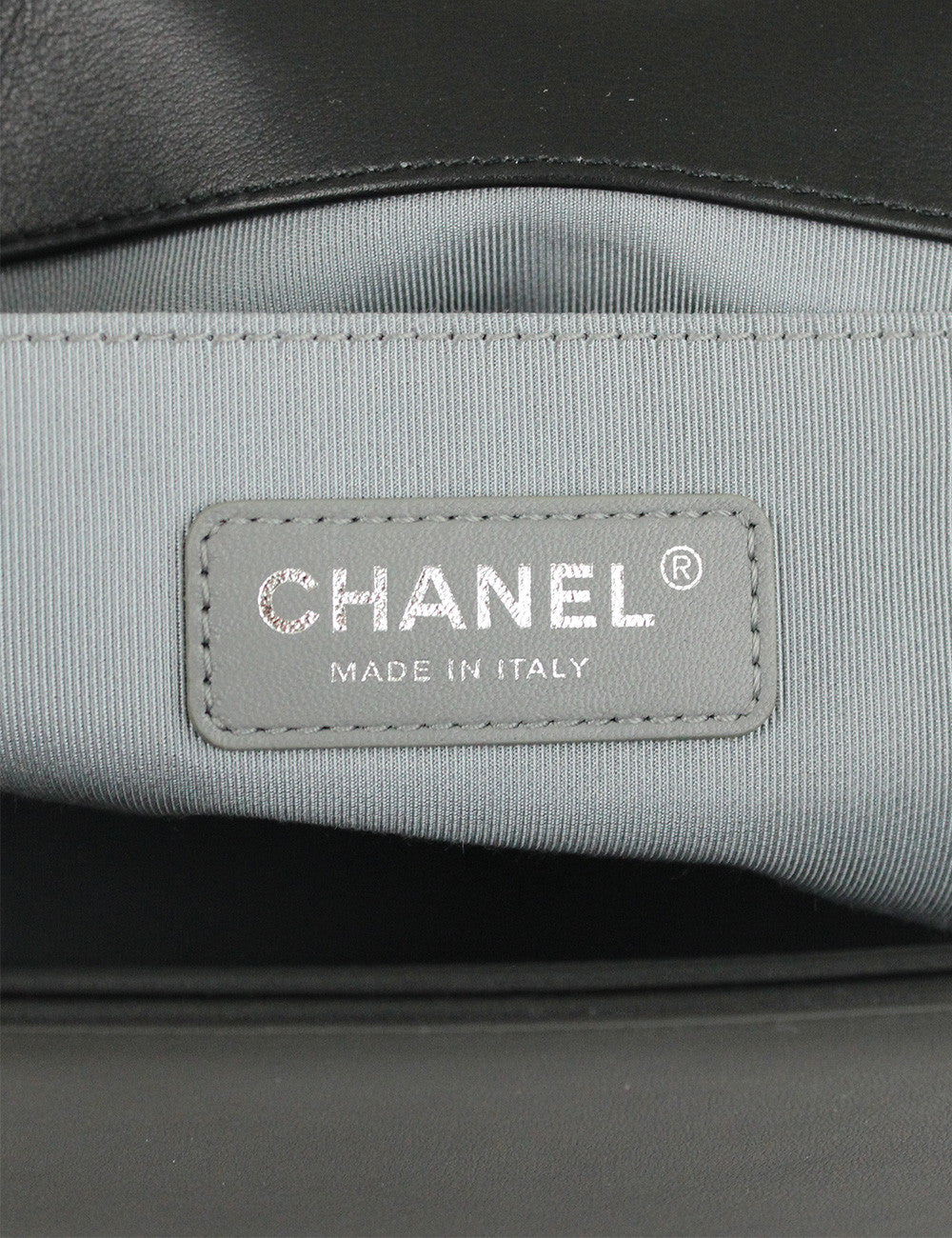 Chanel <br> Chevron Medium Boy Flap Bag