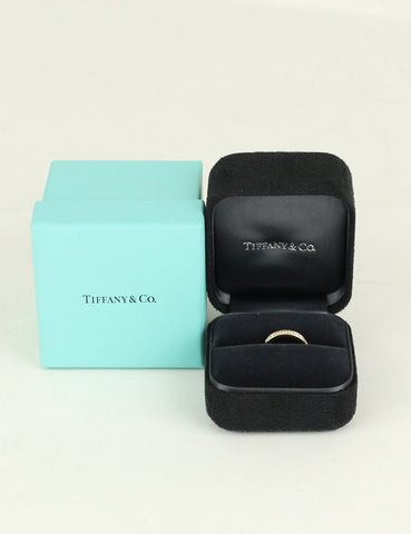 Tiffany & Co <br> Diamond Wedding Band Ring 3mm