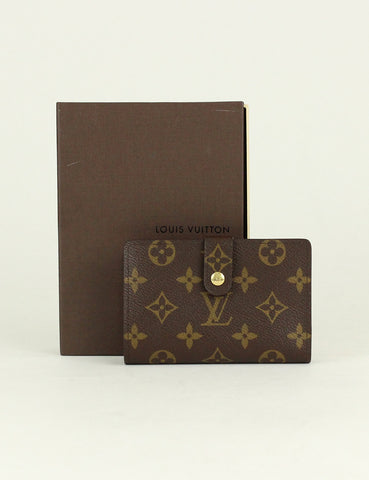 Louis Vuitton <br> French Purse Wallet