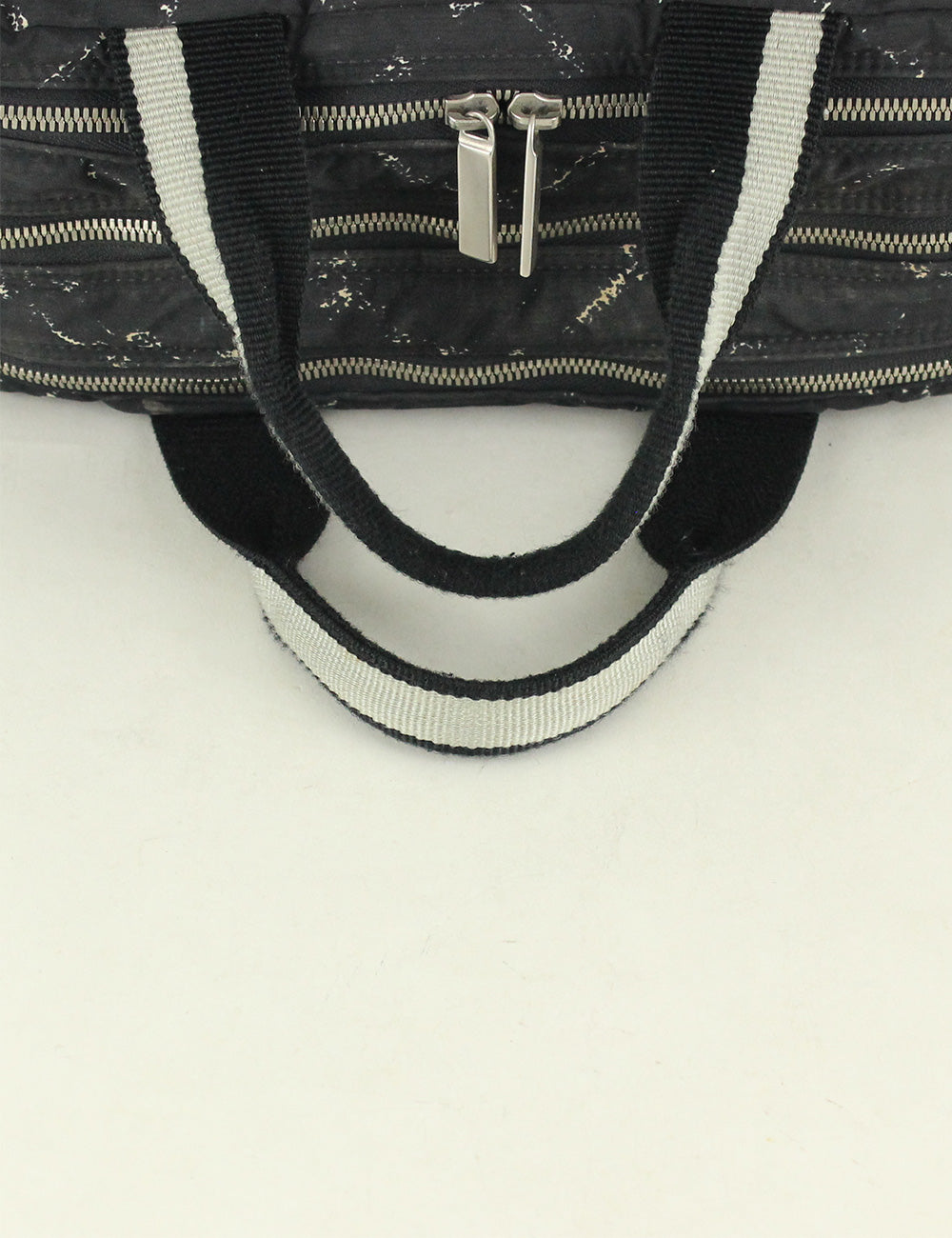 Chanel <br> Travel Ligne Printed Hand Bag