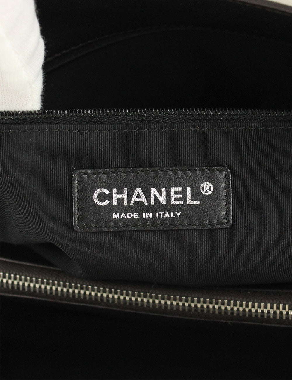 Chanel <br> CC Logo Quilted Reissue Shopping Tote Bag