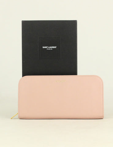 Yves Saint Laurent <br> Zip Around Wallet