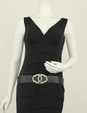 Chanel <br> CC Logo Belt Size 95