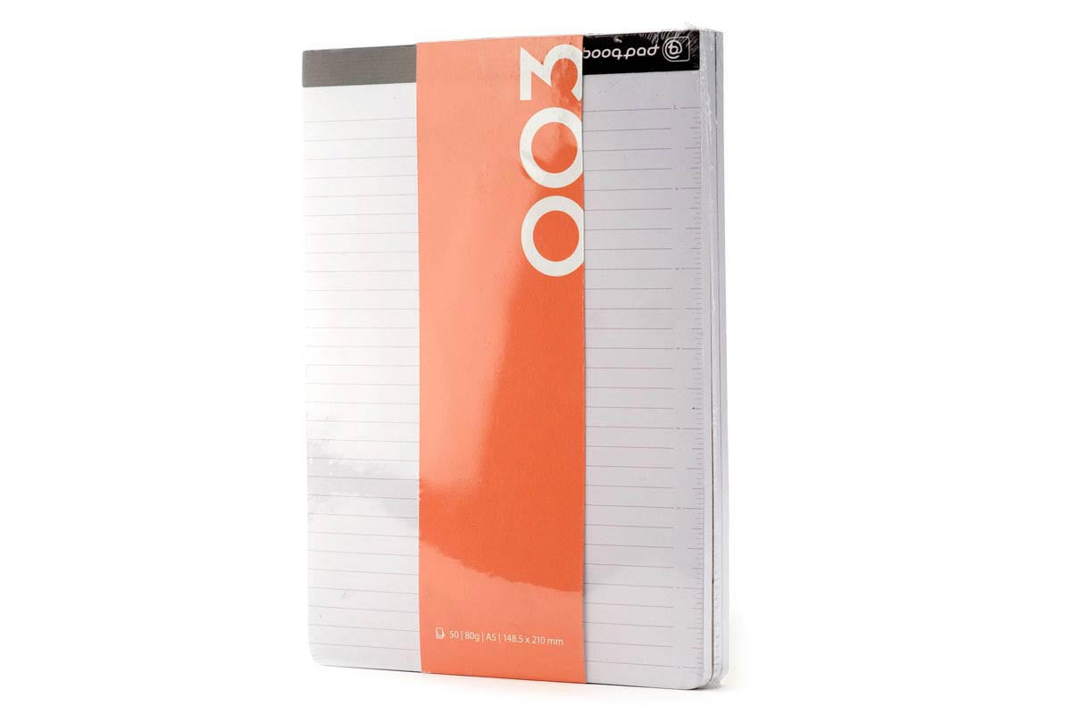 notepad 3 pack college ruled modern folios for booqpad booqeurope
