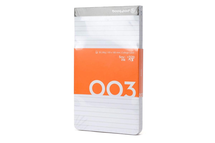 Folios - Notepad Mini 3-pack, College-ruled