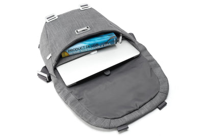 Shoulder Bags - Shadow, Gray Fibre