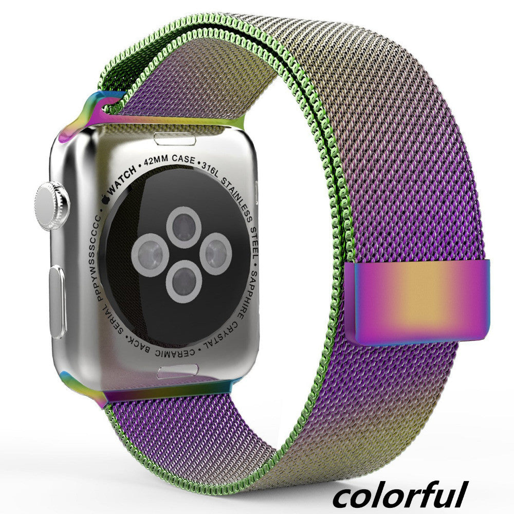 Touch Rage Introduces the Colorful Milanese Loop Watch Band for Apple Watch