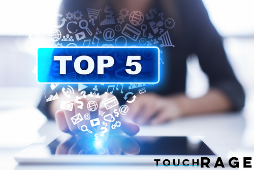 Touch Rage Top 5: Favorite Product Releases of 2016