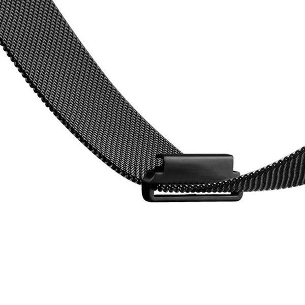 Touch Rage Milanese Loop, Magnetic Closure, for Fitbit Blaze Smartwatch, Black