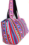 Handmade Lisu hill tribe intricate patchwork bowling / duffel bag - Atlas Goods