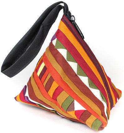 HANDMADE LISU HILL TRIBE PYRAMID COIN PURSE - Atlas Goods