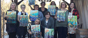 March 22 - #PaintParty with Rea Kelly 7pm-9pm