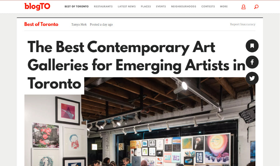 Best Contemporary Art Galleries for Emerging Artists – #Hashtag Gallery