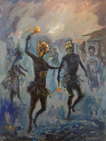 Ayodele Ojo – Sun Dance at Night