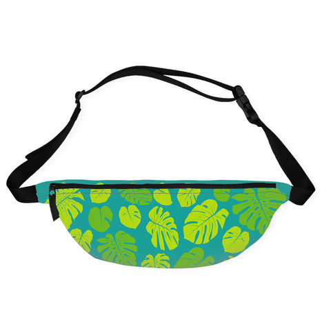 Graeme Luey - Monstera Waist Bag