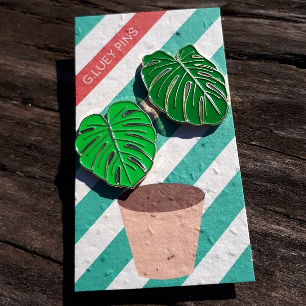 Graeme Luey - Monstera Pin Set