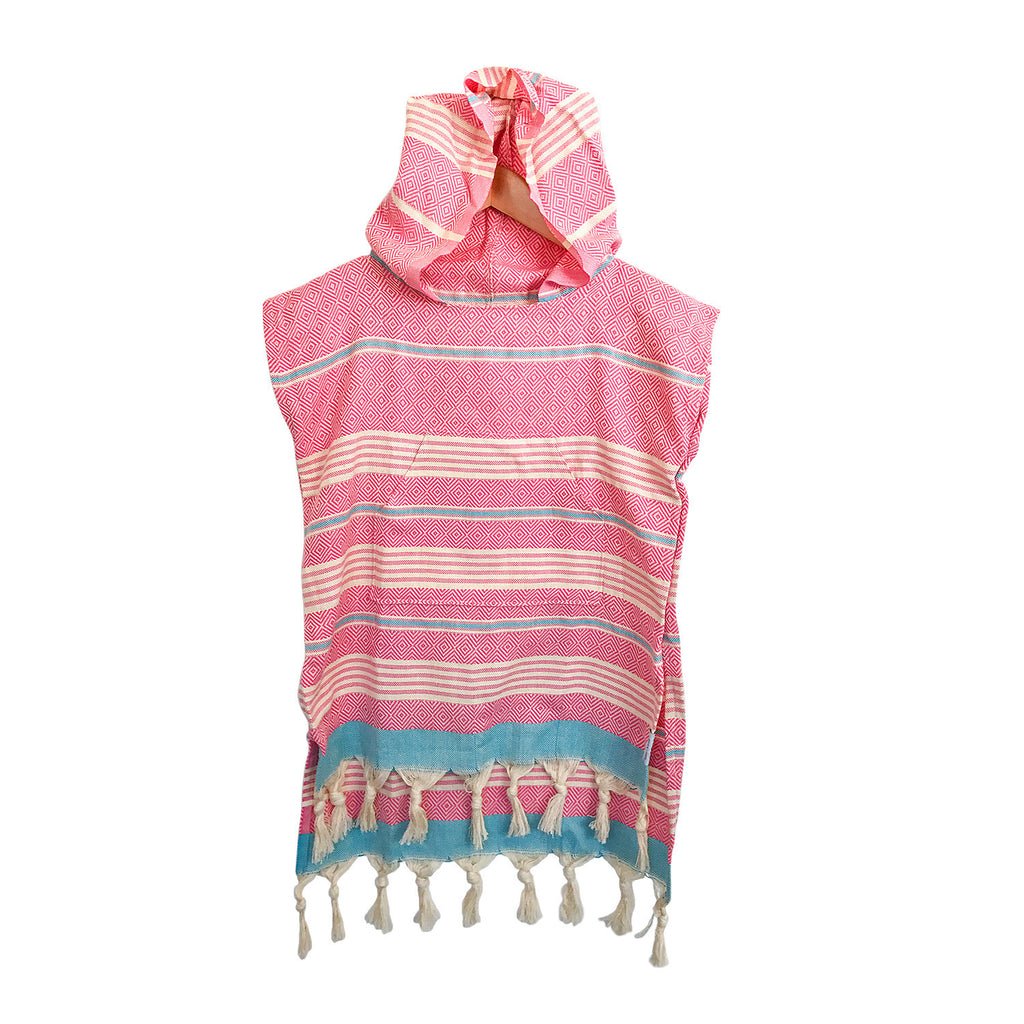 Fin Poncho - Pink