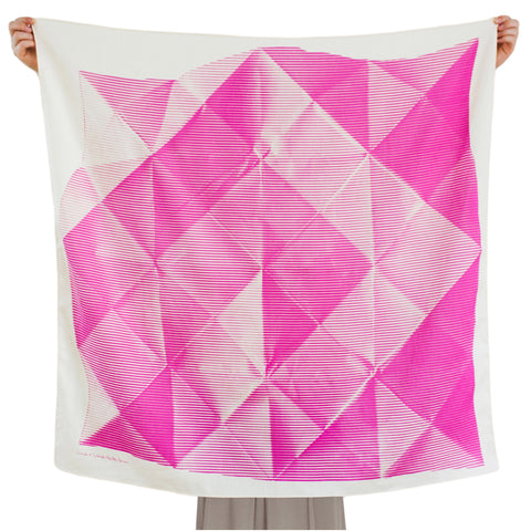 Folded Paper Pink