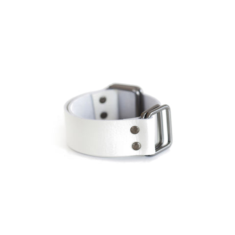 Leather Strap White