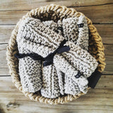 Rectangle Knitted Placemats