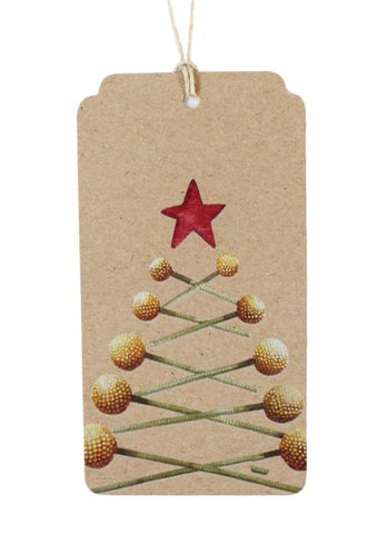 Peas on Earth Gift Tag