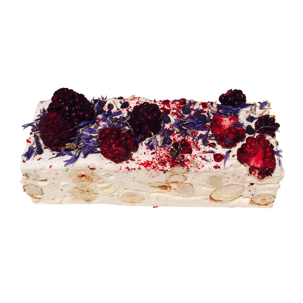 Blackberry & Violet Nougat