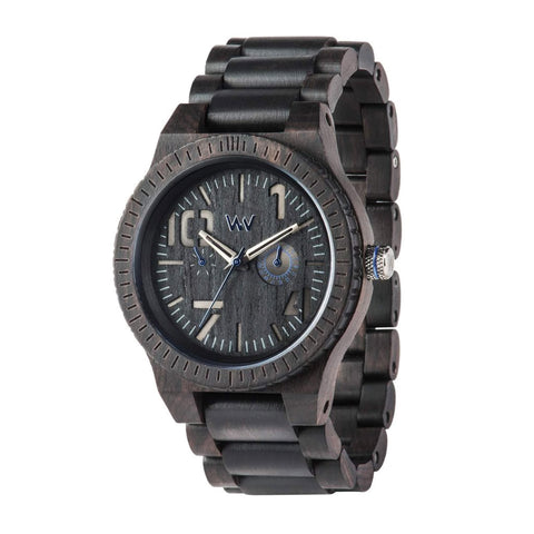 Oblivio Wood Watch - Black/Blue