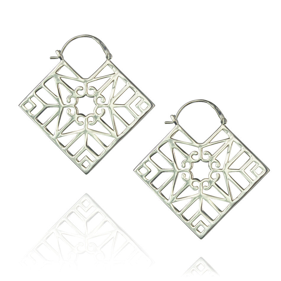 Bokeo Earrings - Sterling Silver