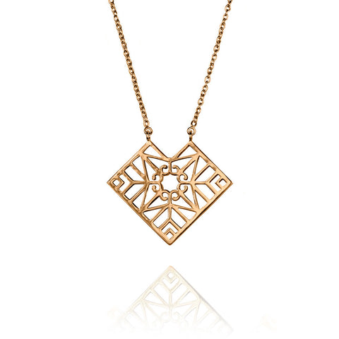 Bokeo Necklace - Rose Gold