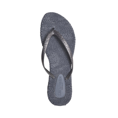 Cheerful Flip Flops Grey