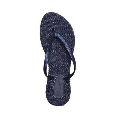 Cheerful Flip Flops Indigo