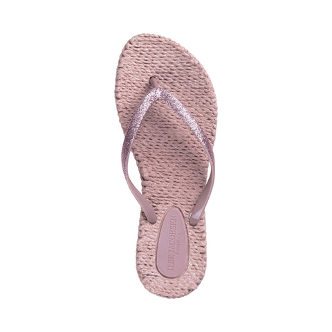 Cheerful Flip Flops Misty Rose