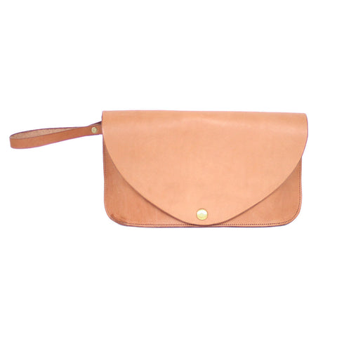 Ladies Clutch - Tan