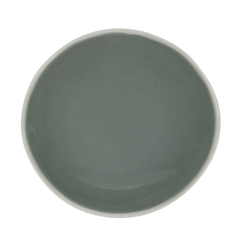 Large Oval Bowl in Light Grey (2Tone Collection)