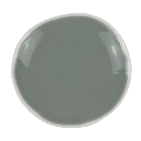 Charger Plate in Light Grey (2Tone Collection)